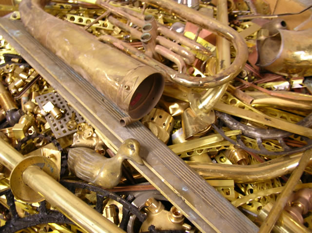 Yellow Brass Scrap for Sale